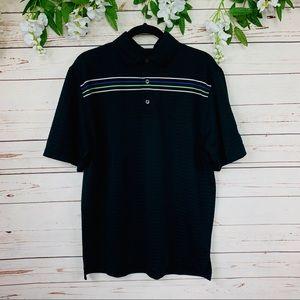 Footjoy Men's Black Polo Shirt